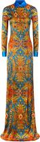 Fjords Long Bi-Stretch Silk Dress