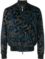 DSQUARED2 floral bomber jacket - men - Cotton/Viscose - 46