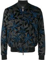 DSQUARED2 floral bomber jacket - men - Cotton/Viscose - 52