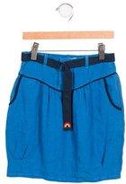 Stella McCartney Girls' Belted Skirt