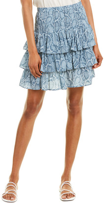 Acrobat Paige Silk Mini Skirt