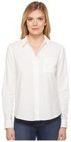 NYDJ Linen/Cotton Shirt Women's Clothing