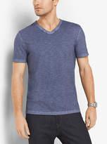 Michael Kors Cotton V-Neck T-Shirt