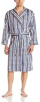 Bottoms Out Men's Soft Woven Shawl Collar Robe