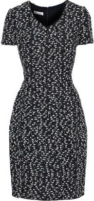 Oscar de la Renta Boucle-tweed Dress