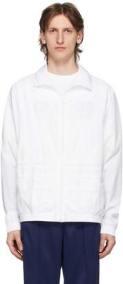 adidas White Big Trefoil Track Jacket