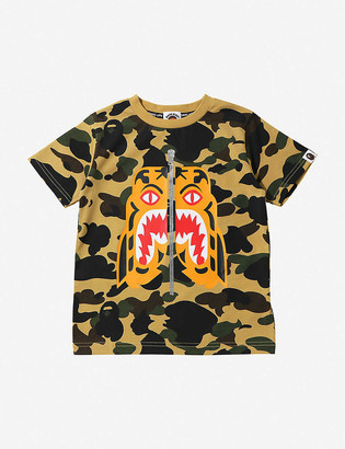 A Bathing Ape 1st Camo Tiger graphic-print T-shirt 4-10 years