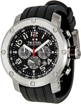 TW Steel Men's TW120 Grandeur Tech Silicon Strap Watch