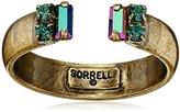 "Sorrelli Wild Fern"" Petite Crystal Open Ring, Size 7-9"