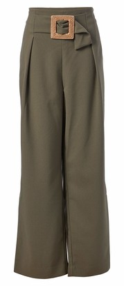 Chaus Women's Belted Twill Pant
