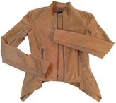 BCBGMAXAZRIA Brown Synthetic Jacket