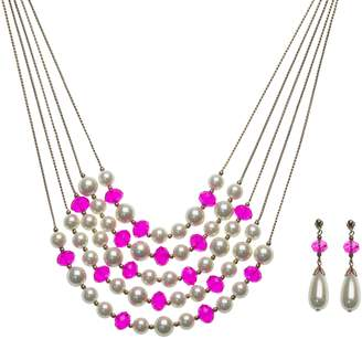 Linea By Louis Dell'olio by Louis Dell'Olio Mixed Media Necklace Set