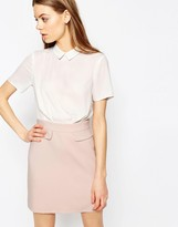 Asos A-Line Color Block Dress