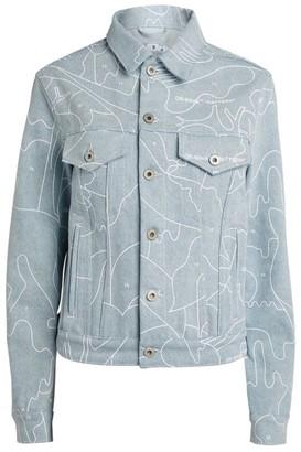 Off-White Puzzle Denim Jacket
