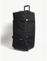 Eastpak Black Andy Warhol Tranverz Two Wheel Suitcase, Size: 78x49x22cm