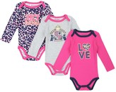 Juicy Couture Baby 3-Pack Bodysuits
