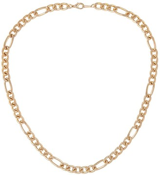 Susan Caplan Vintage 1990s Vintage Gold Plated Figaro Chain Necklace