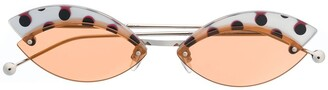 Fendi Eyewear Cat Eye Sunglasses