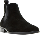 Dune Martime Chelsea Suede Boots, Black