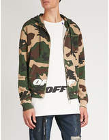 Off-White C/O Virgil Abloh Camouflage-print cotton-jersey hoody