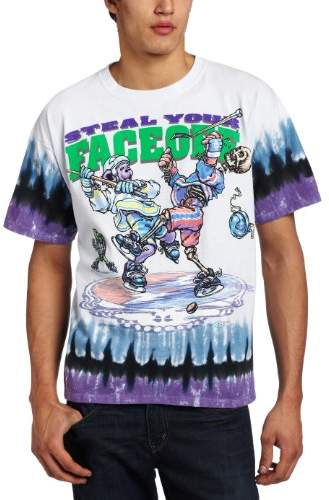 Liquid Blue Men's Grateful Dead Steal Your Face Off T-Shirt
