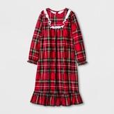 Komar Kids Toddler Girls' Granny Nightgown - Red Plaid