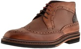 Ted Baker Cinika Leather Brogue Boots Brown
