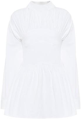 REJINA PYO Vera cotton-poplin blouse