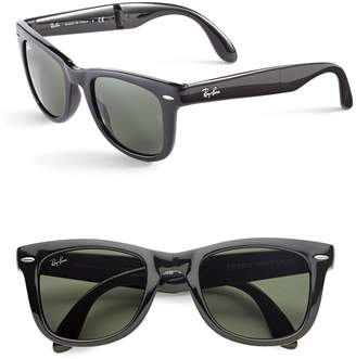 Ray-Ban 50MM Folding Wayfarers