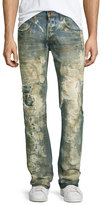 PRPS Noir Bleached Super-Destroyed Jeans, Light Blue