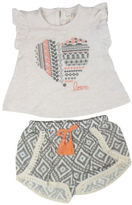 Jessica Simpson Two-Piece Top and Shorts Set