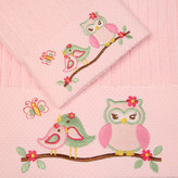 Love Birds Cotton 2 Piece Embroidered Towel Gift