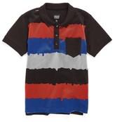 Armani Junior Boy's Stripe Polo