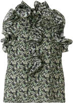 Manoush floral camouflage blouse