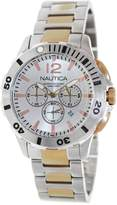 Nautica Men's Bfd 101 N27525G Two-Tone Stainless-Steel Quartz Watch with Dial