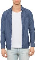 R & E RE: Long Sleeve Textured Shirt