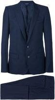 Dolce & Gabbana three piece suit - men - Acetate/Cupro/Viscose/Wool - 48