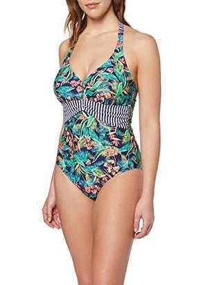 Pour Moi? Women's Havana Breeze Underwired Halter Suit Bikini Top, Multicolour Multi, (Size:)