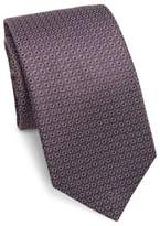 Saks Fifth Avenue COLLECTION Mosaic Silk Tie