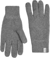 Selected Grey 'Leth' Gloves