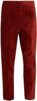 Golden Goose Deluxe Brand Kenzie cropped corduroy trousers