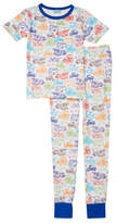 BedHead Tweens Short Sleeve Snug Fit Classic Vehicle Pajama Set