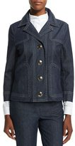 Escada New Thermal Denim Jacket, Navy