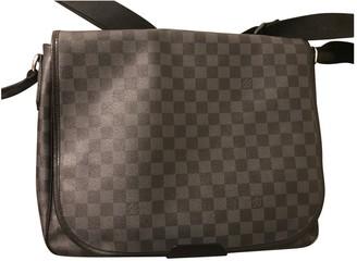 Louis Vuitton District Anthracite Cloth Bags