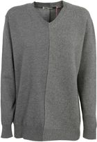 Stella McCartney Contrast Panel V-neck Sweater