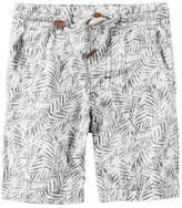 Carter's Baby Boy Patterned Pull-On Shorts