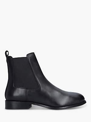 Carvela Comfort Rest Leather Chelsea Ankle Boots, Black