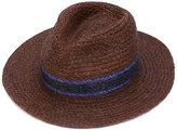 Paul Smith braided panama hat - men - Straw - L