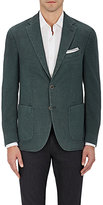 Barneys New York Men's Wool-Blend Hopsack Two-Button Sportcoat