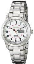 Seiko Women's SUT167 Solar Stainless Steel Bracelet Watch